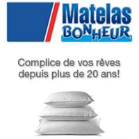 Circulaire Matelas Bonheur - Flyer - Catalogue - Ahuntsic