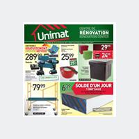 Circulaire Unimat - Flyer - Catalogue - L'Assomption
