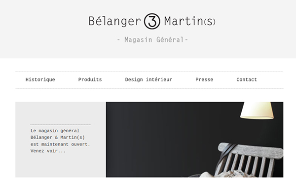 Bélanger & Martin En Ligne
