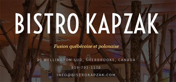 Bistro Kapzak En Ligne