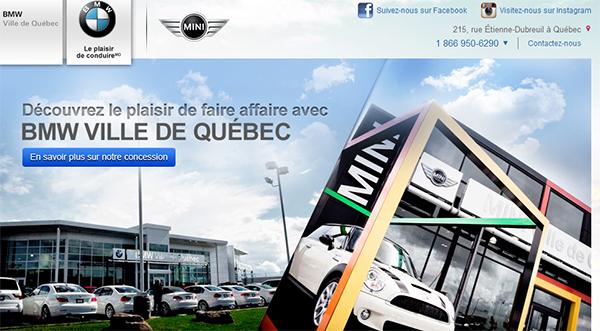 Bmw & Mini Ville De Québec En Ligne