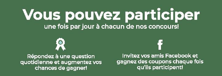 Concours Francoischarron.com