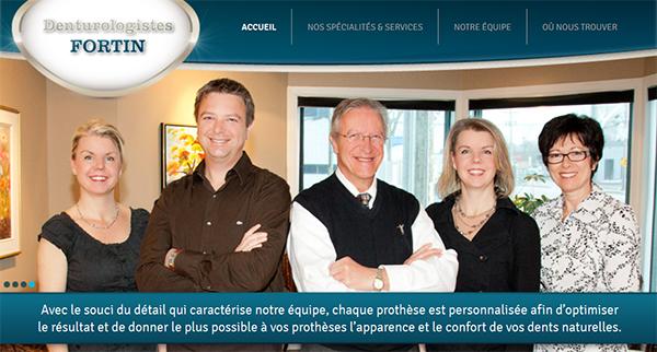 Denturologistes Fortin En Ligne