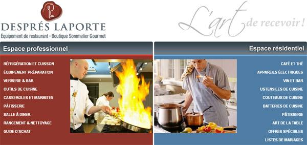 Després Laporte équipement De Restaurant Boutique Sommelier Gourmet En Ligne