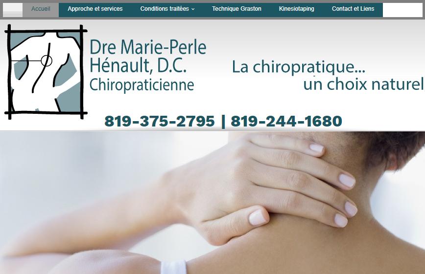 Dre Marie Perle Hénault, Chiropraticienne D.c En Ligne