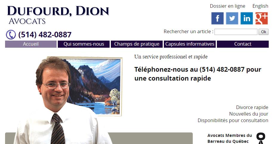 Dufourd Dion Avocats En Ligne