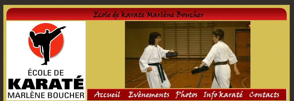 école De Karaté Marlène Boucher En Ligne