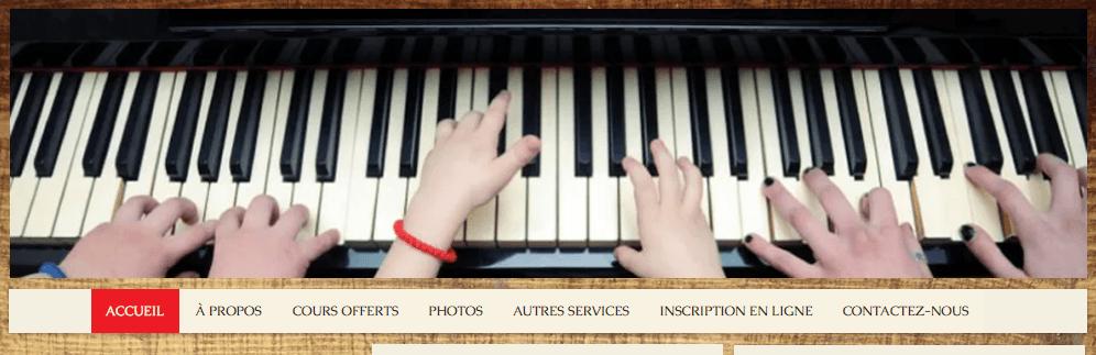 école De Musique Audrey Nadeau En Ligne