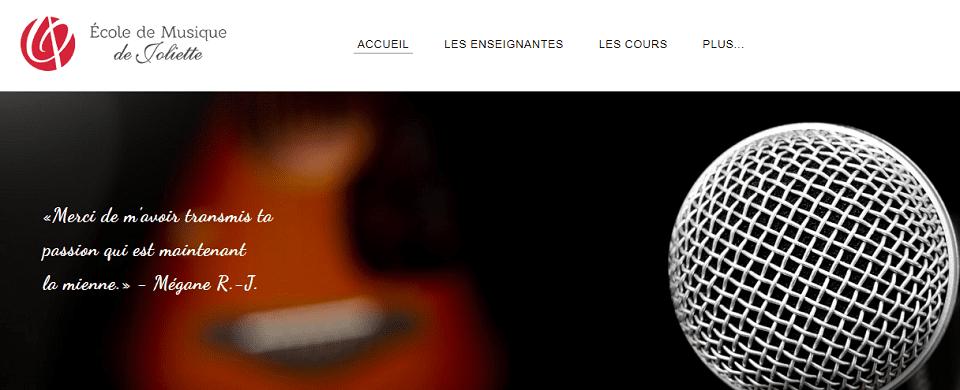 école De Musique De Joliette En Ligne