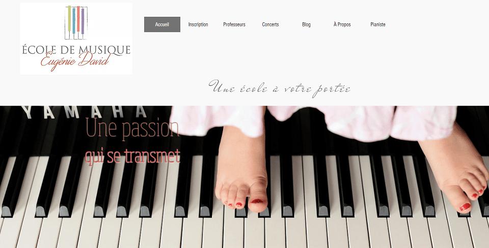 école De Musique Eugénie David En Ligne