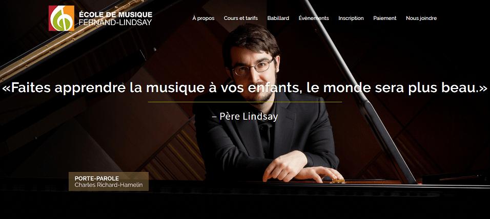 école De Musique Fernand Lindsay En Ligne