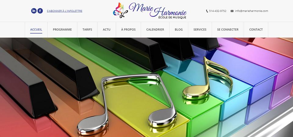 école De Musique Marie Harmonie En Ligne