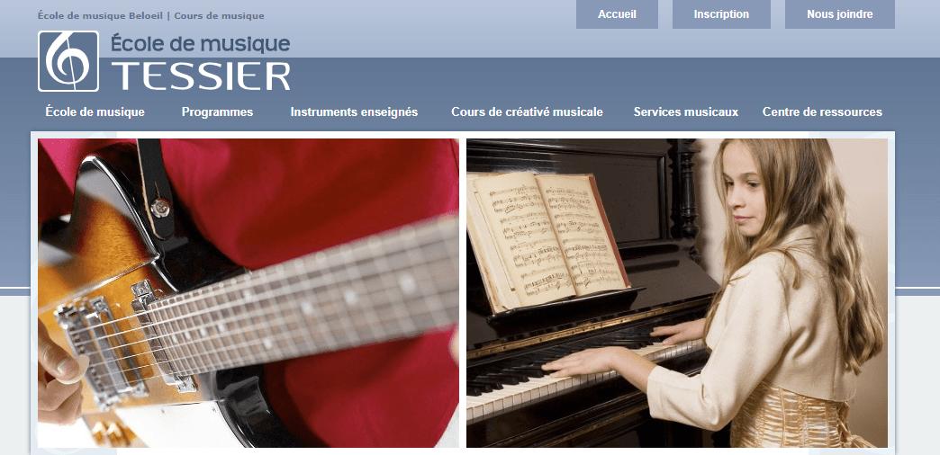 école De Musique Tessier En Ligne