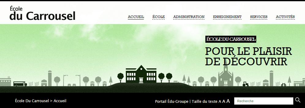 école Du Carrousel En Ligne