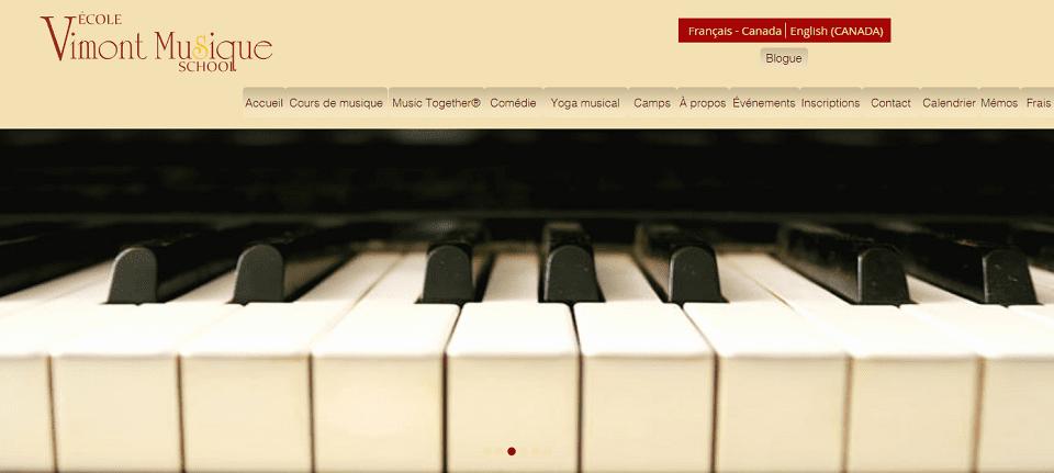 école Vimont Musique En Ligne