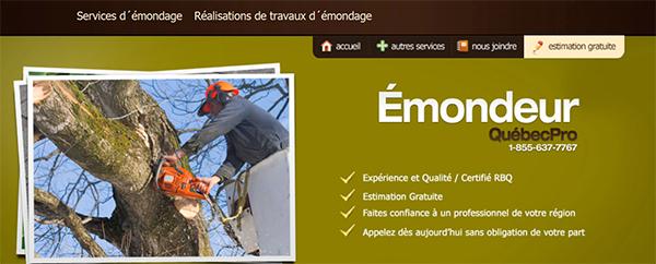 émondeur Québec Pro En Ligne