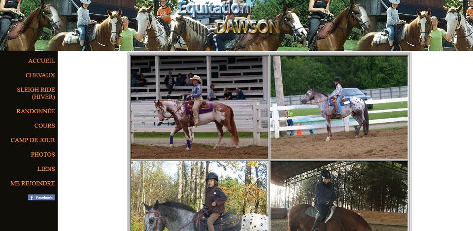 équitation Dawson En Ligne