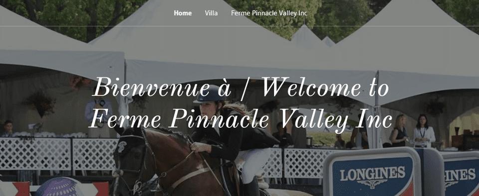 Ferme Pinnacle Valley Inc. En Ligne