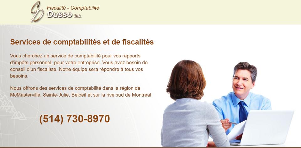 Fiscalité Comptabilité Dusso Inc. En Ligne