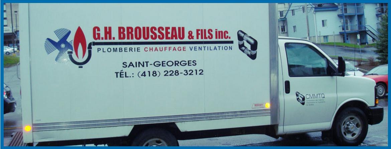 G.h. Brousseau & Fils Inc. En Ligne