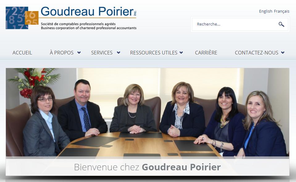 Goudreau Poirier Cpa Inc. En Ligne