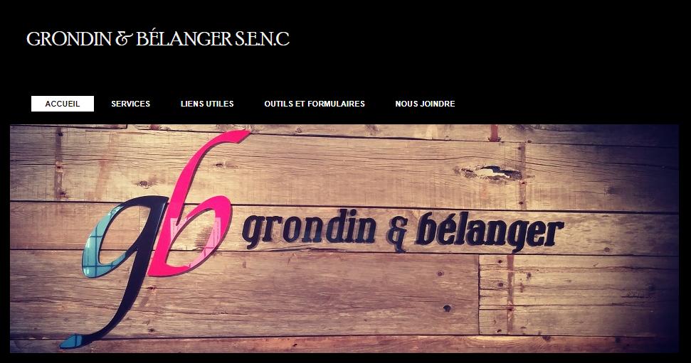 Grondin & Bélanger S.e.n.c. En Ligne