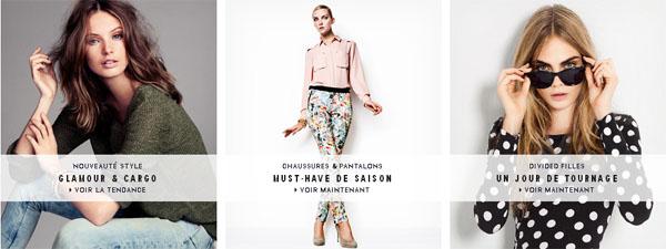 H&m Boutique Vêtements Femmes En Ligne