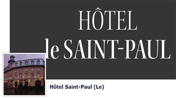 Hôtel Le Saint Paul