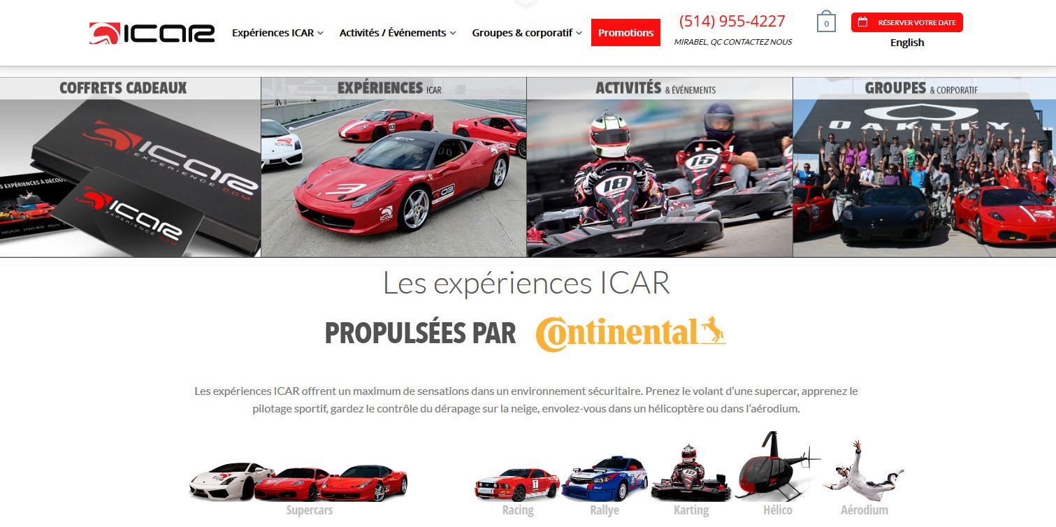 Icar Experience