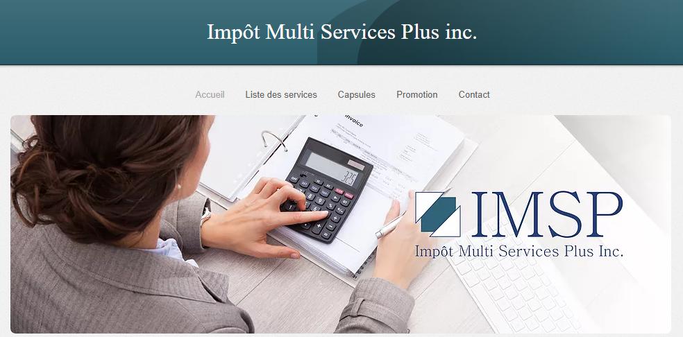 Impôt Multi Services Plus Inc. En Ligne