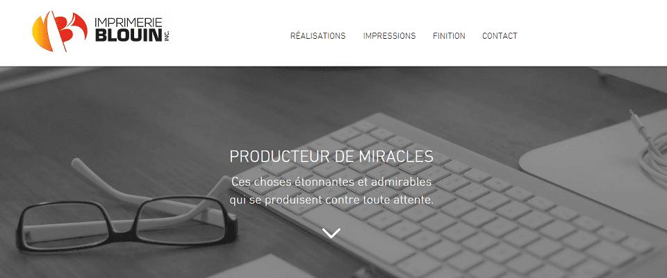 Imprimerie Blouin En Ligne