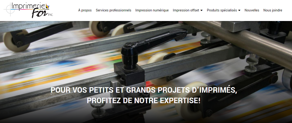 Imprimerie For Inc. En Ligne