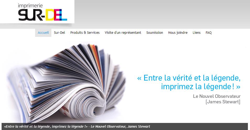 Imprimerie Sur Del En Ligne