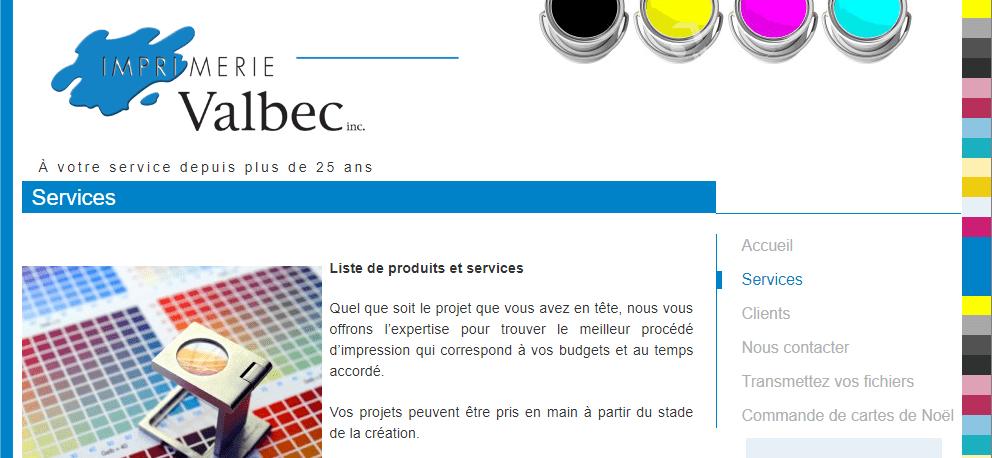 Imprimerie Valbec En Ligne