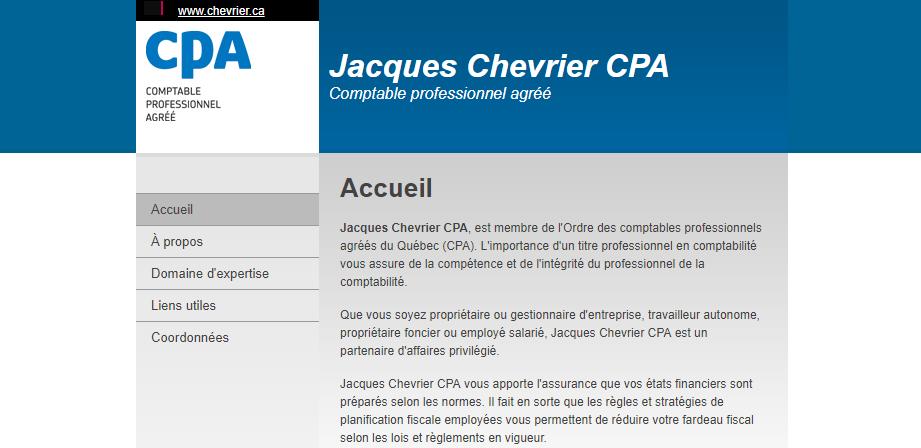 Jacques Chevrier Cpa En Ligne
