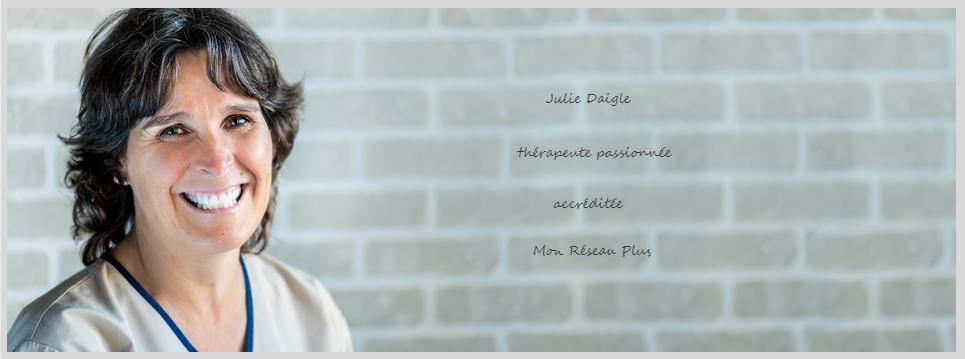 Julie Daigle Thérapeute Passionnée En Ligne