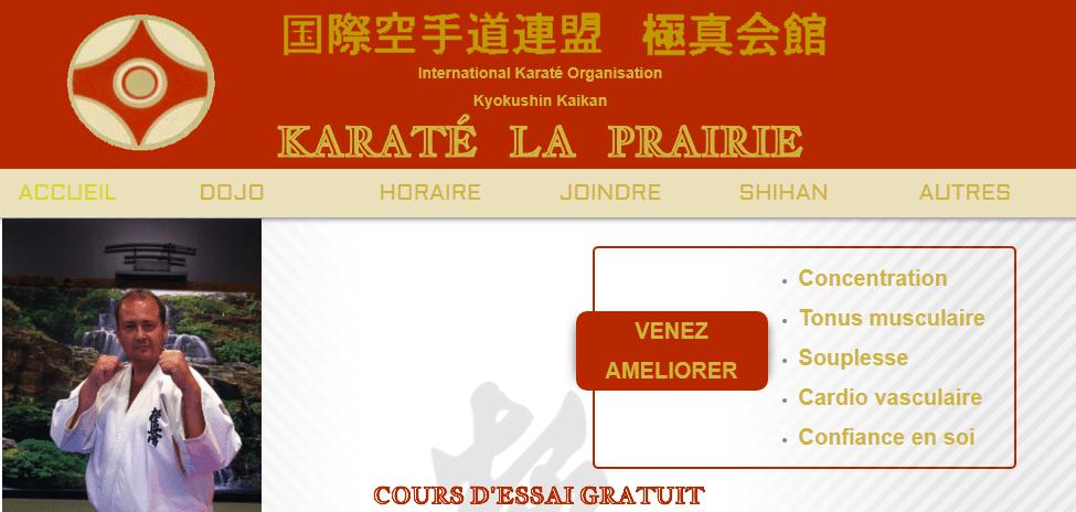 Karaté La Prairie En Ligne