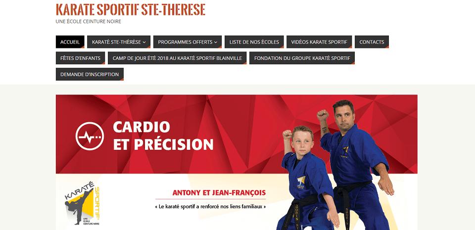 Karaté Sportif Ste Therese En Ligne
