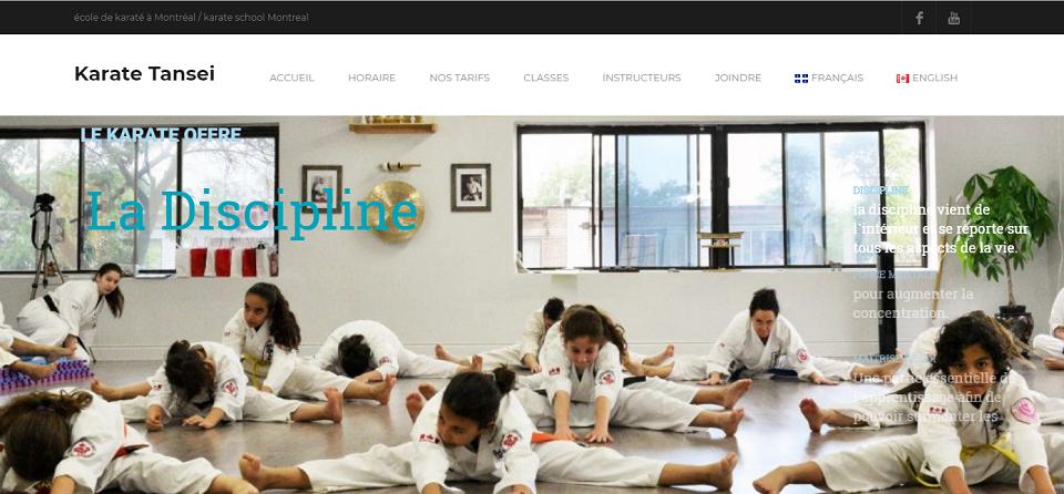 Karate Tansei En Ligne