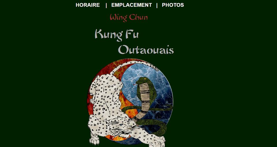 Kung Fu Outaouais En Ligne