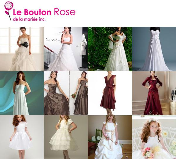 Le Bouton Rose De La Mariée