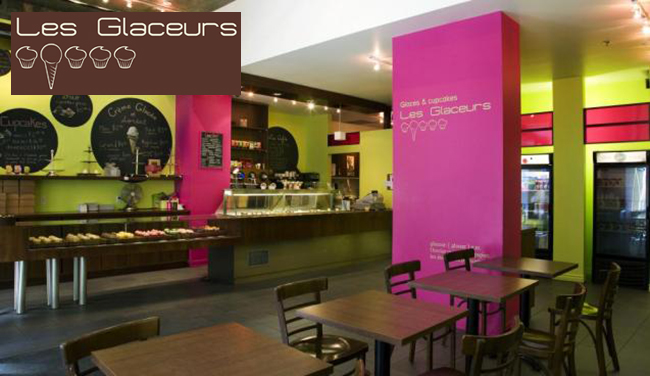Les Glaceurs   Glaces & Cupcakes