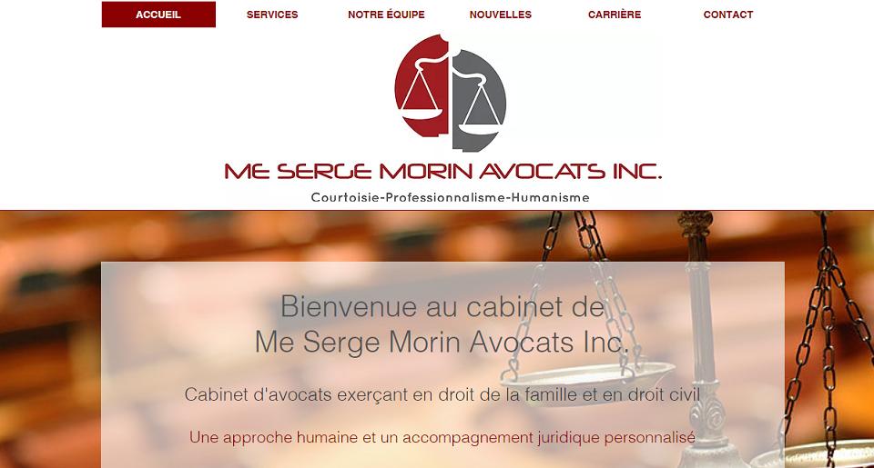 Me. Serge Morin Avocats Inc. En Ligne