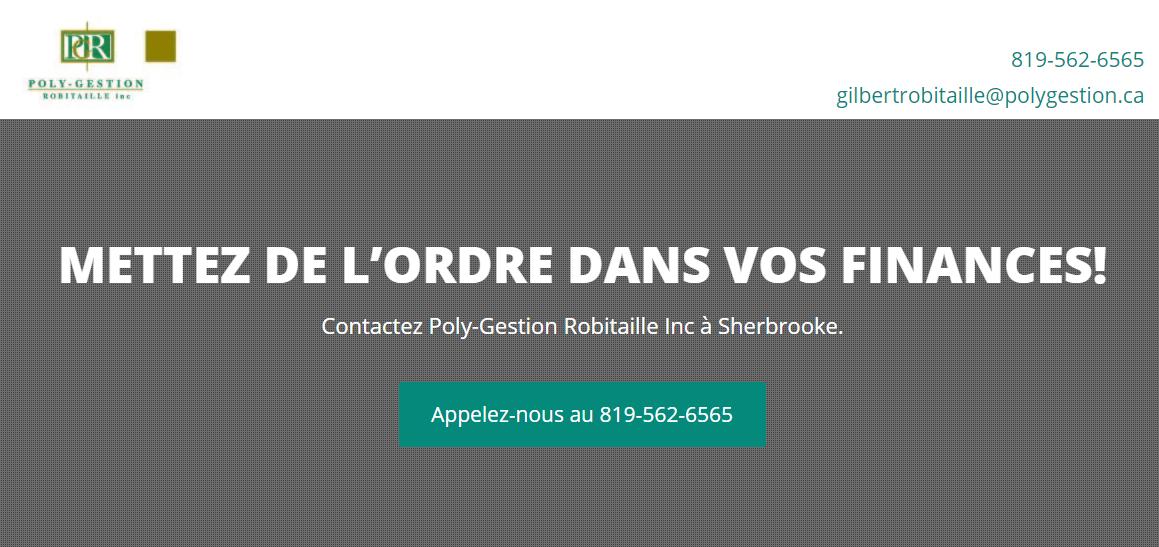 Poly Gestion Robitaille Inc. En Ligne