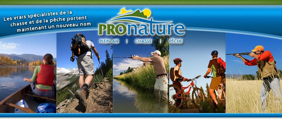 Pronature Plein Air, Chasse Et Pêche