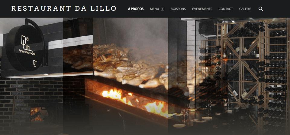 Restaurant Da Lillo En Ligne