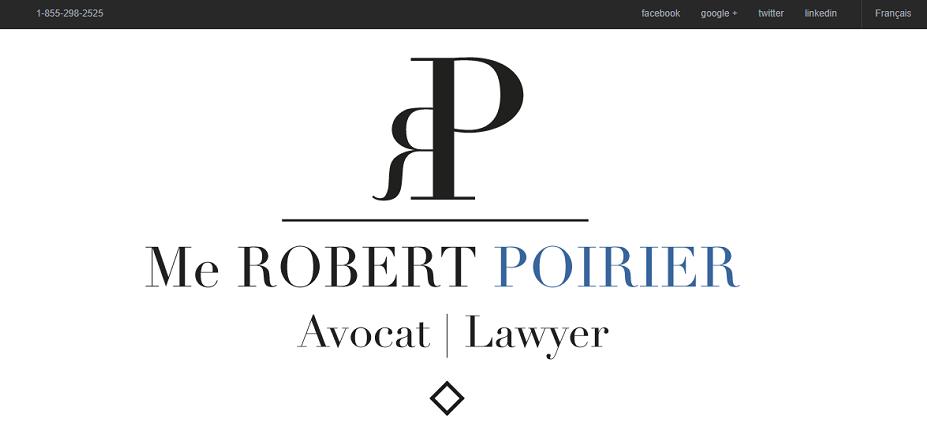 Robert Poirier Avocat En Ligne