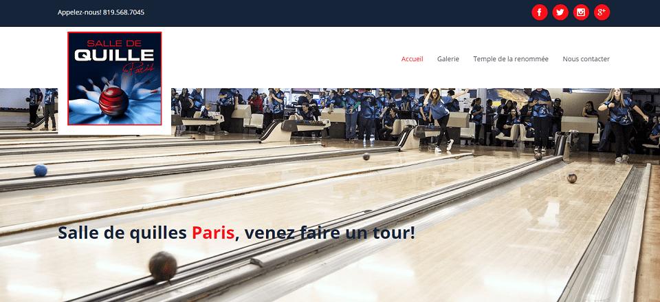 Salle De Quilles Paris En Ligne