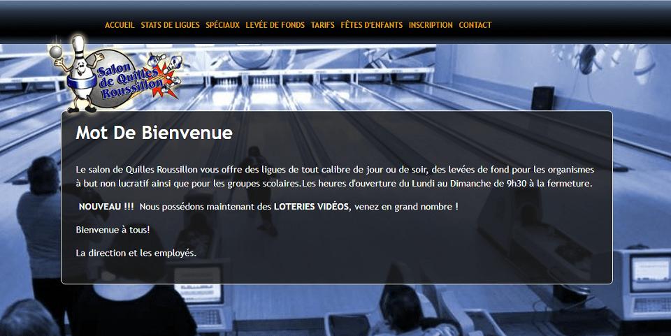 Salon De Quilles Roussillon En Ligne