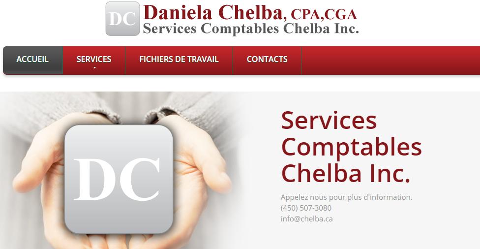 Services Comptables Chelba Inc. En Ligne